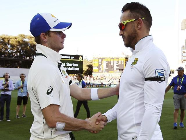 Australia captain Steve Smith's recharged team chased down the 127 runs required for victory on the fourth day of the pink-ball Test to give promise of better things to come.(AFP)