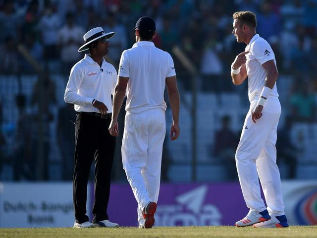 Kumar Dharmasena had most of his decisions overturned during the recent England-Bangladesh series.