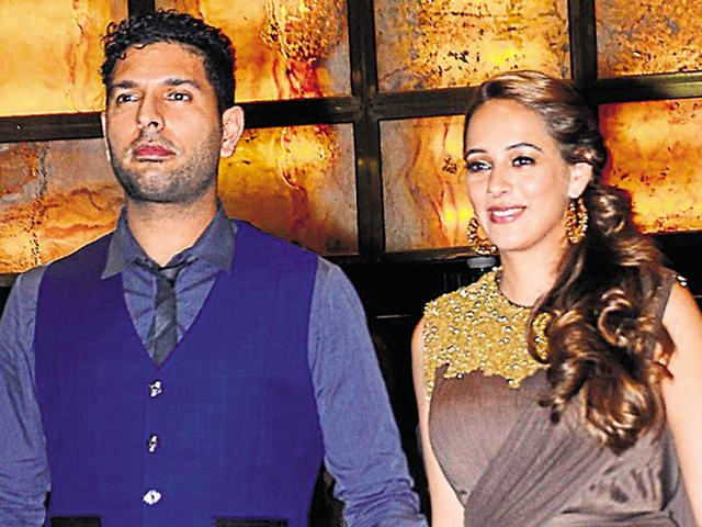 Yuvraj Singh will wed Hazel Keech on November 30.(Yogen Shah)