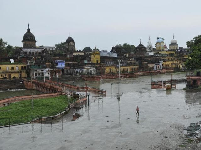 A view of Ayodhya. While religion hasn't stopped mattering to the new generation here, most youngsters don't relate to the idea of the Ram mandir, an agenda from a time before they were born.