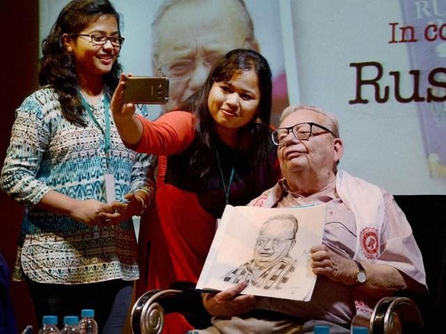 """God has created beautiful things but has put human beings in-charge. But, unfortunately we have not done a really good job in preserving it,"""" Ruskin Bond said."""