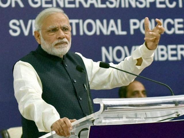 Prime Minister Narendra Modi delivered his 26th Mann ki Baat address to the nation Nov 27.(PTI)