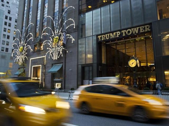 President-elect DonaldTrump has been using Trump Tower as his transition headquarters.