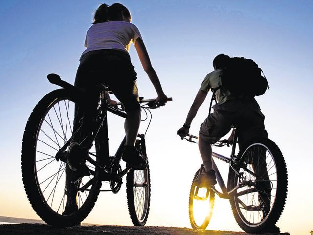 Indoor and outdoor cycling are a great way for mental and physical well-being.