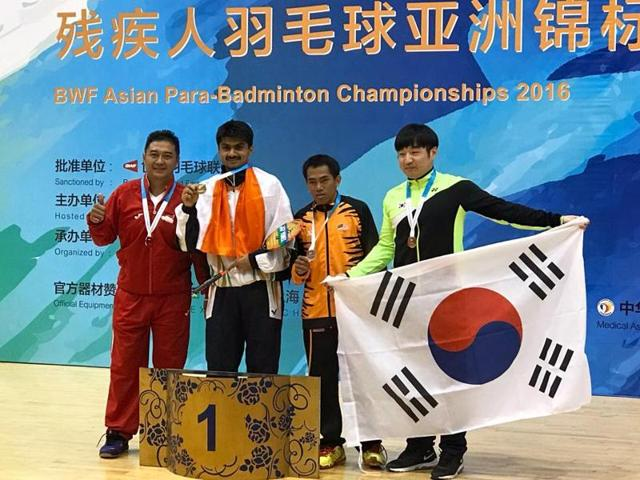 IAS officer Suhas LY won gold in the Asian Para-Badminton Championships that was held in Beijing.