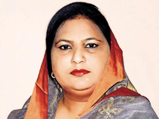 Rajwinder Kaur Bhagike(HT File Photo)