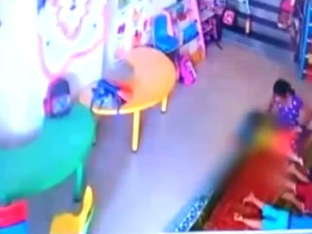 Daycare centre assault,Kharghar daycare,infant assaulted