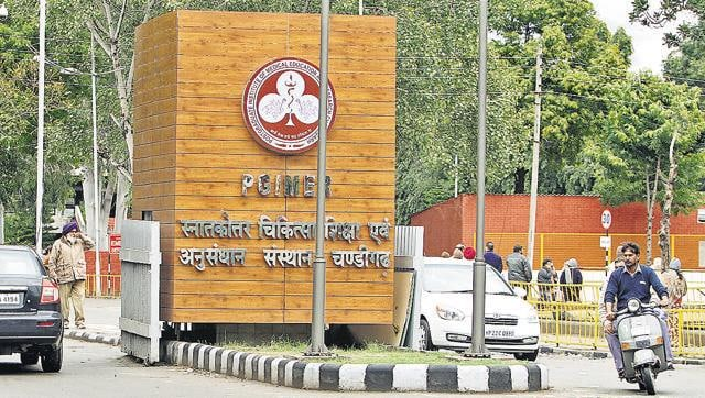The Postgraduate Institute of Medical Education and Research in Chandigarh.
