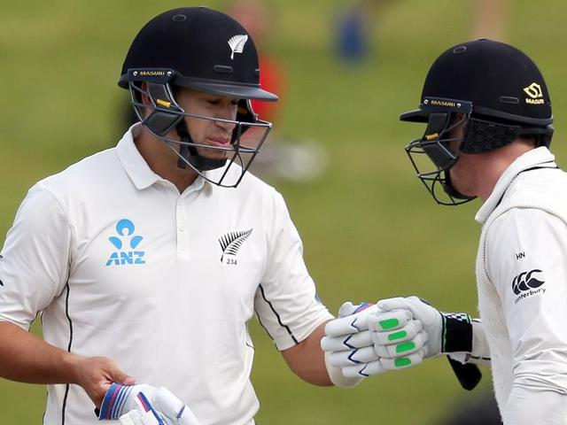 Ross Taylor is now only one century behind Martin Crowe in the list of New Zealand's highest century scorers.