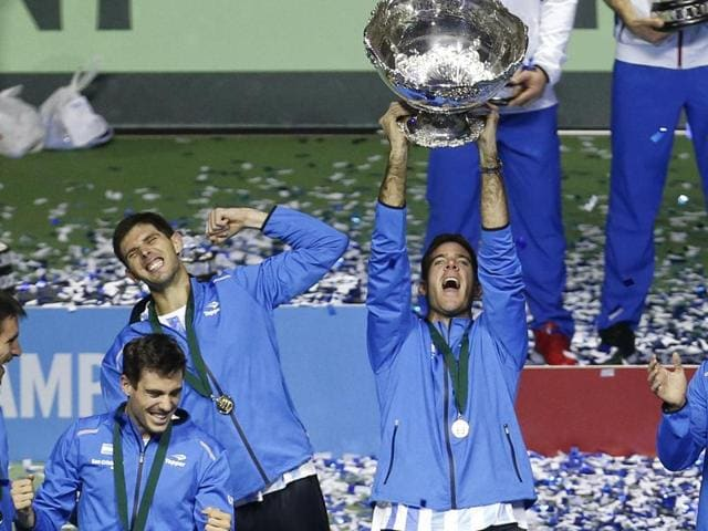 Argentina secured their first-ever Davis Cup title as they defeated Croatia 3-2.