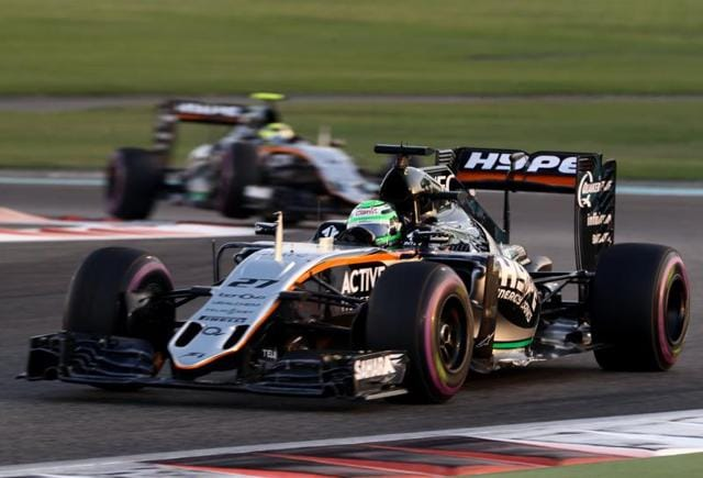 Force India's Sergio Perez finished seventh overall with 101 points while team-mate Nico Hulkenberg ended at ninth with 72 points in the driver's championship.