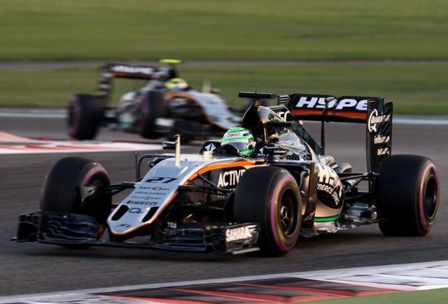 Formula One,Nico Hulkenberg,Sergio Perez