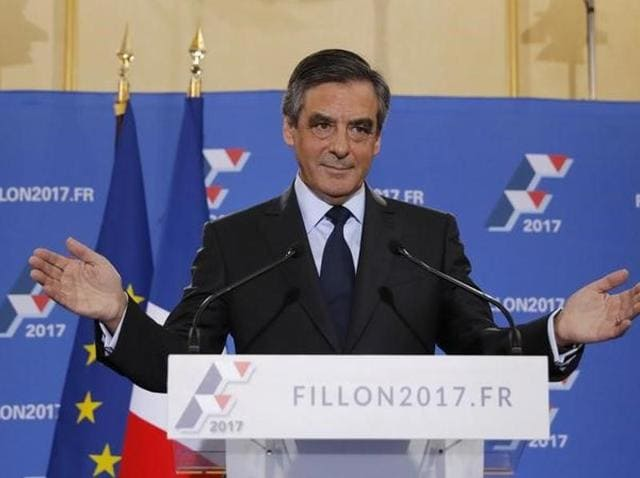 Francois Fillon, former French prime minister and member of Les Republicains political party, won the rightwing nomination for next year's presidential election.
