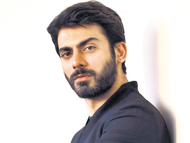 File photo of Pakistani actor Fawad Khan during a visit to the HT office in Mumbai for promoting the movie Kapoor and Sons.