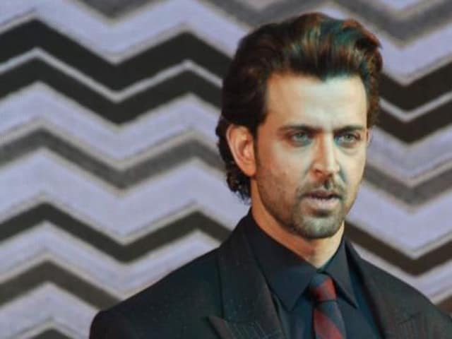 Hrithik Roshan at a promotional event. (IANS)