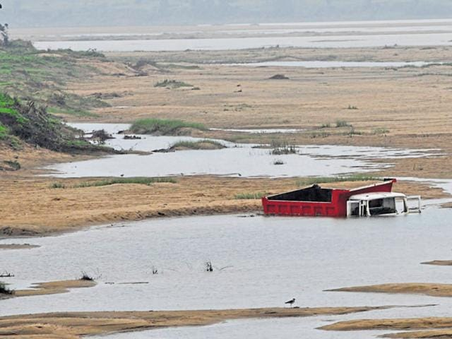 In October, an environment committee gave its nod to sand mining at three sites along the Chambal river in Morena.
