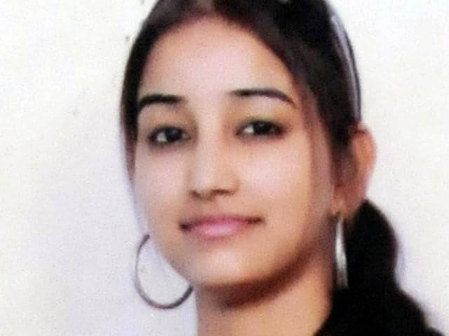 Neha Sharma, the 24-year-old woman who died in police firing at a checkpoint set up after Sunday's jailbreak at Nabha.