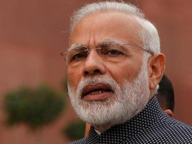 File photo of PMNarendra Modi. Police said the prime minister was among some top leaders who were on the hitlist of three suspected al Qaeda leaders arrested by the NIA on Nov 28, 2016.