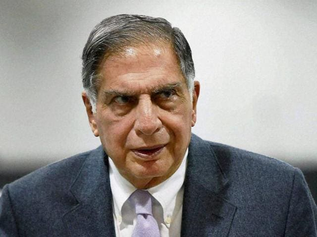 File photo of Ratan Tata who has made a comeback as Tata Sons' interim chairman for 4 months.