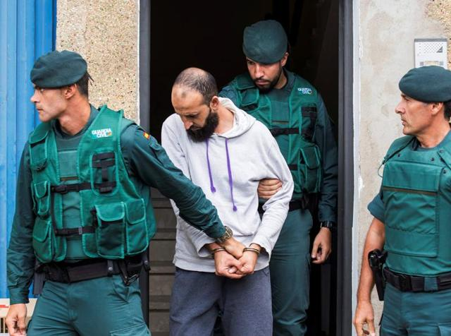 Police believe the four arrested Monday had contacts with two extremists arrested in Salzburg, Austria, shortly after the November 2015 attacks.