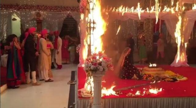 WATCH: Kushal Tandon Turns Real Life Hero; Saves Jennifer Winget From Fire On The Sets Of Beyhadh!