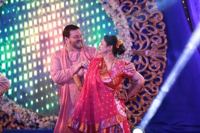 Neil Nitin Mukesh And Rukmini Sahay Had A Colourful Sangeet Ceremony!