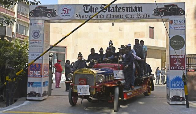 'Melody on wheels': The 51st Statesman Vintage and Classic Car Rally