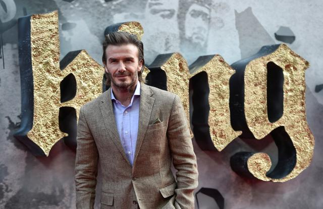 Red card! David Beckham's acting in King Arthur savaged by fans and critics