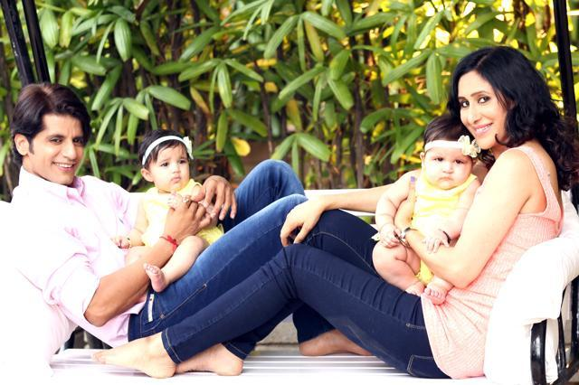 Photos of Karanvir Bohra and Teejay Sidhu's cute twins that you shouldn't miss