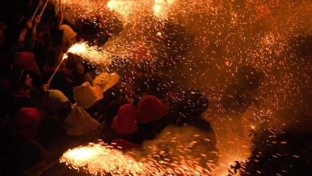 PHOTOS : The Spanish festival of La Patum in Berga