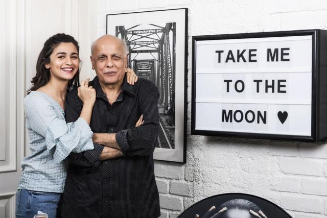Alia Bhatt And Mahesh Bhatt Get Candid For An Exclusive Photoshoot And Chat For Father's Day!