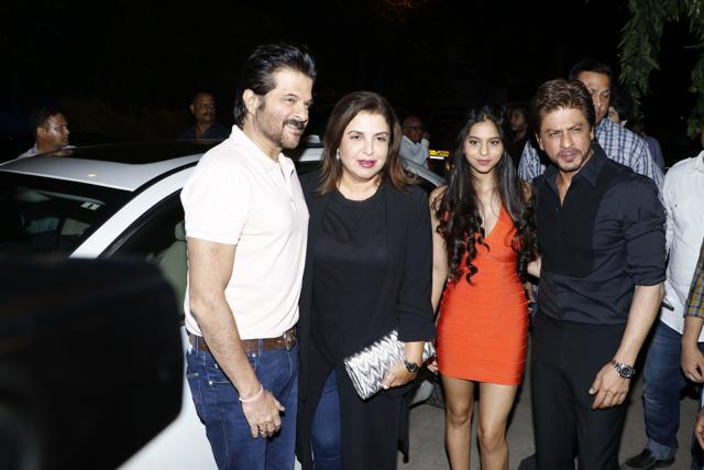 Shah Rukh Khan Spends Father's Day With Suhana