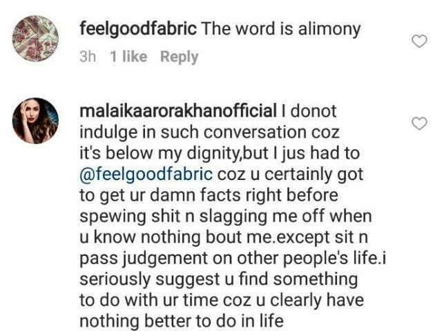 Malaika Arora Khan Trolled For 'Divorcing Rich Man'...Gives It Right Back!