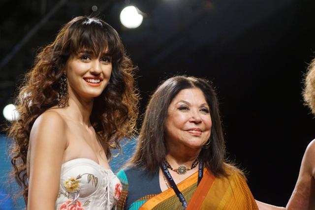 Disha Patani Walks Down Ramp For Ritu Kumar