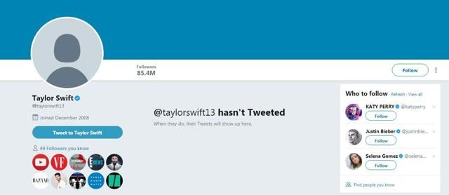 Taylor Swift Removes All Content From Her Social Media Profiles