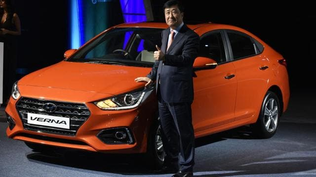 Photos   Hyundai Verna: The fifth-generation mid-sized sedan launched in...