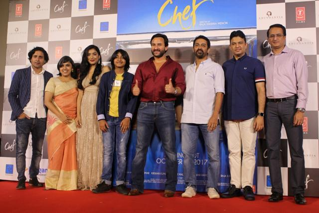Saif Ali Khan's 'Chef' trailer released!