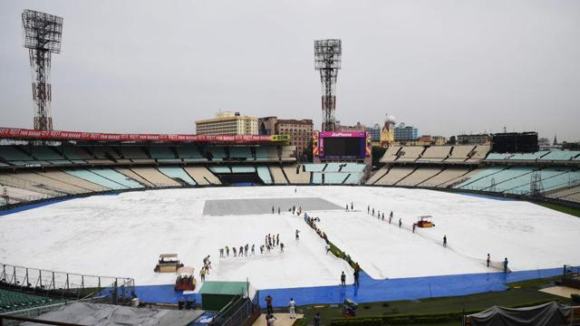 The build-up for the India vs Australia ODI at Eden Gardens has been interrupted by persistent rain over the last one week.