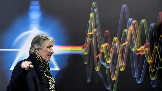 Photos: Pink Floyd exhibits in Rome bring rock music history 'back to l...