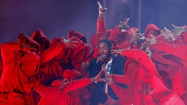 Kendrick Lamar swept the rap categories and opened the show with a fiery performance. He won five awards, but lost in the top categories, marking another year where rappers were restricted from coveted wins like album of the year.