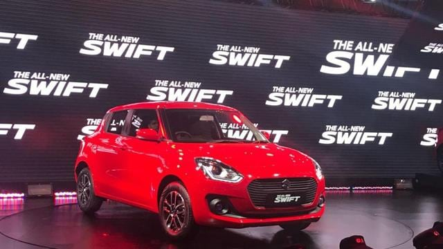 New Maruti Swift: Red hot at Auto Expo 2018
