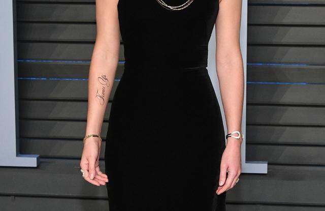 Emma Watson debuts new tattoo with grammatical error