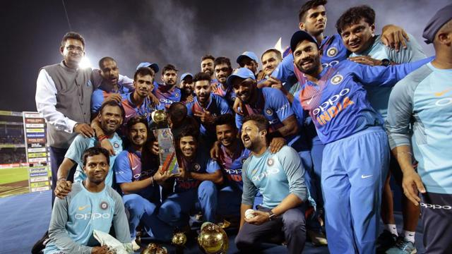 Dinesh Karthik hits last-ball six as India clinch Nidahas Trophy T20 ti...