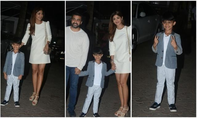 In Pics & Vids: Shilpa Shetty And Raj Kundra Celebrate Son Viaan's Birthday With Glamour And Compassion