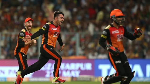All-round Rashid Khan powers Sunrisers Hyderabad to IPL2018 final