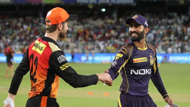 Kolkata Knight Riders won the toss and chose to bowl against Sunrisers Hyderabad in the second qualifier at Eden Gardens.