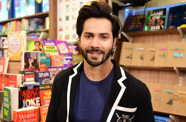 Varun Dhawan attends the launch of the book 'SuhelDev &;  The Battle of Bahraich 'by Amish Tripathi.  (AFP)