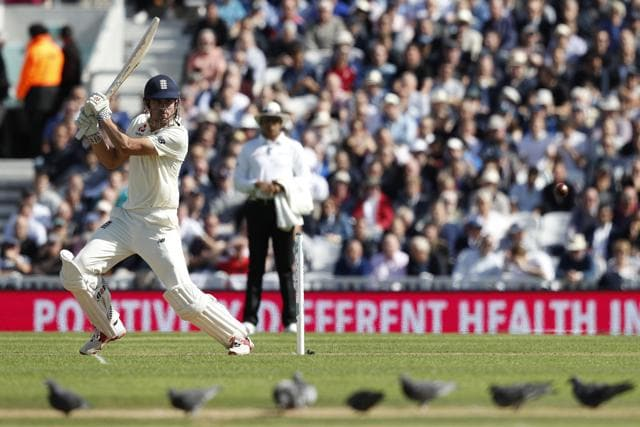 It was a sedate start by Cook and Keaton Jennings on a slowish Oval pitch