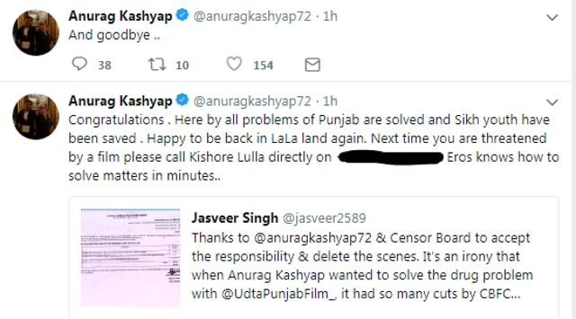 Anurag Kashyap Blasts The Distributors Of Manmarziyaan For Editing It Without His Approval