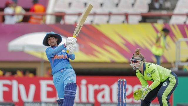 Mithali Raj added two new accolades to her already illustrious career as she guided her team to victory against Ireland in the the ICC Women's World T20 2018 match on Thursday. Her half century helped her surpass New Zealand's Martin Guptill, who is the highest T20I run-scorer among men's cricketers. However, she is still the fourth-highest T20I scorer in the world, standing behind Suzie Bates (2961), Stafanie Taylor (2691) and Charlotte Edwards (2605).